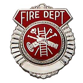 Smith & Warren Tie Tac, Fire Dept w/Firefighter Scramble