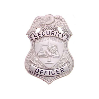 Smith & Warren Stock Badge, Security Officer