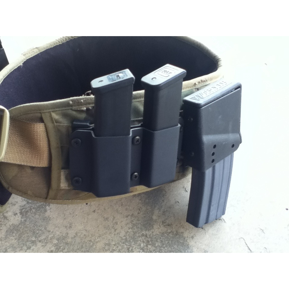 WARFYTR 9/40/357 Double Mag Pouch
