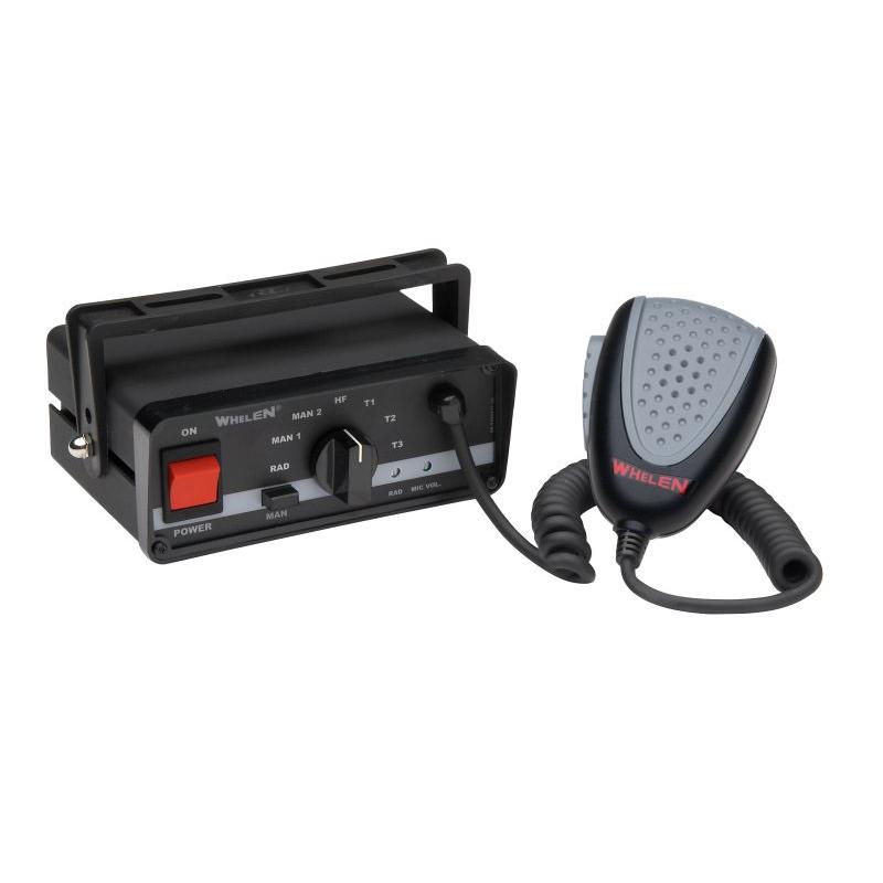 Whelen Full Function Siren & Heavy-Duty Microphone, 12 VDC