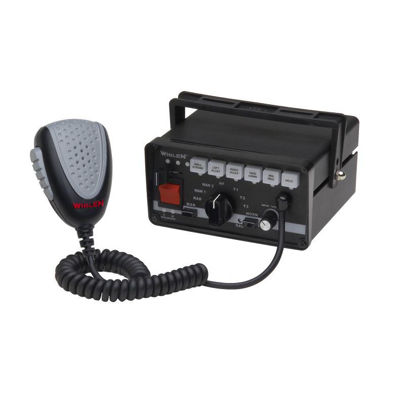 Whelen Single Unit Siren w/ 9-Switch Light Control & Standard Switching
