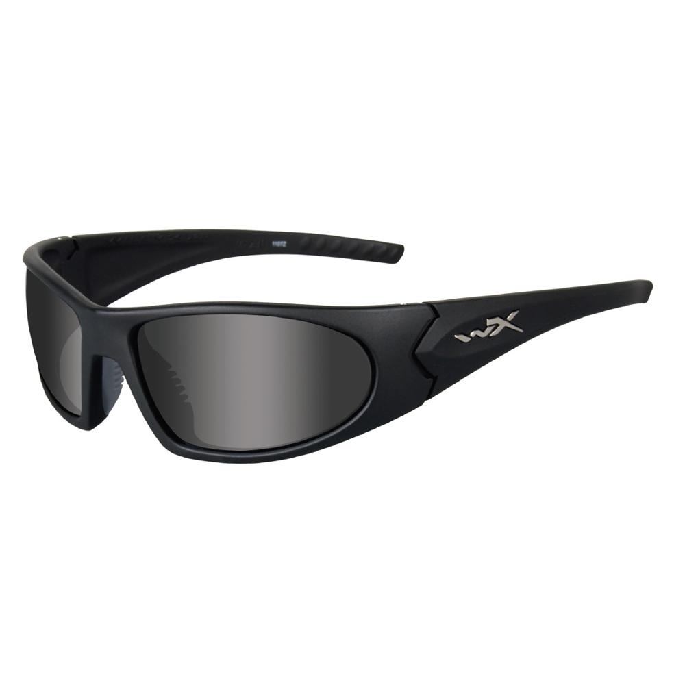 Wiley X Romer 3, Grey/Rust/Clear Lens, Matte Black Frame