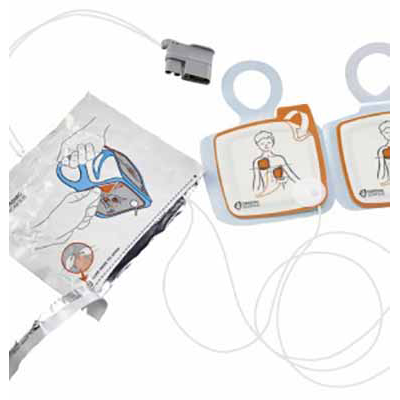 Cardiac Science Intellisense Pediatric Defibrillation Pads for Powerheart G5 AED