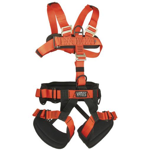 Yates Gear Full Body Harness, NFPA