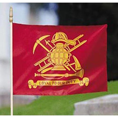 Firefighter Memorial  Flag
