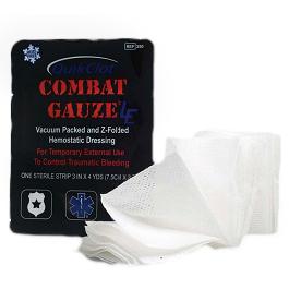 Z-Medica Z Fold QuikClot Combat Gauze LE