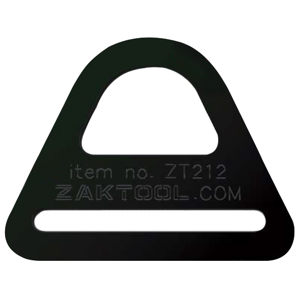 Zak Tool Tactical Buckles Booster Pack of 3